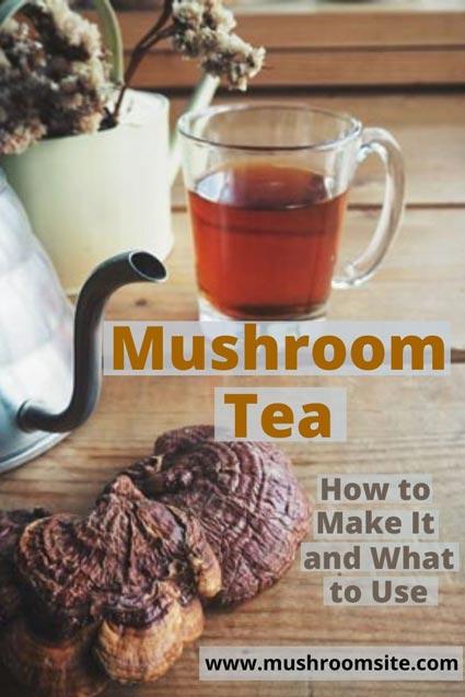 Mushroom Tea Pin