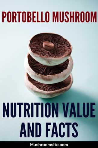 portobello mushroom nutrition